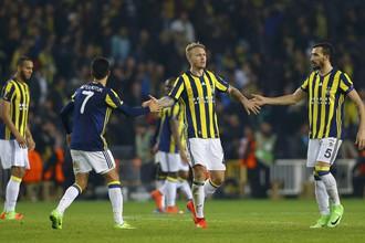 «Краснодар» сыграл вничью с «Фенербахче» и впервые вышел в 1/8 финала Лиги Европы
