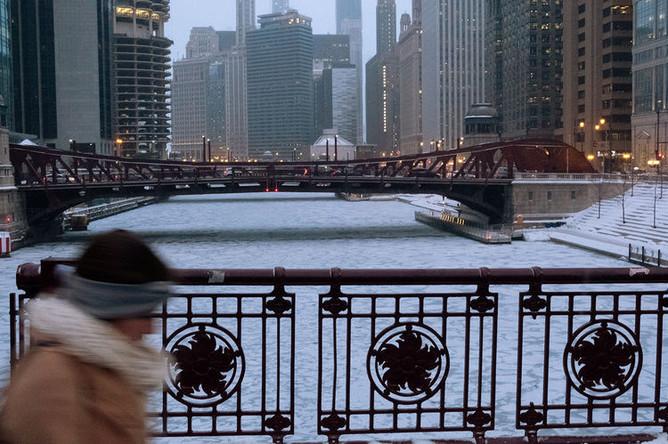 Морозы в Чикаго, США, 30 января 2019 года