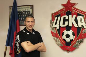 Алексей Ионов в офисе ЦСКА после подписания арендного соглашения