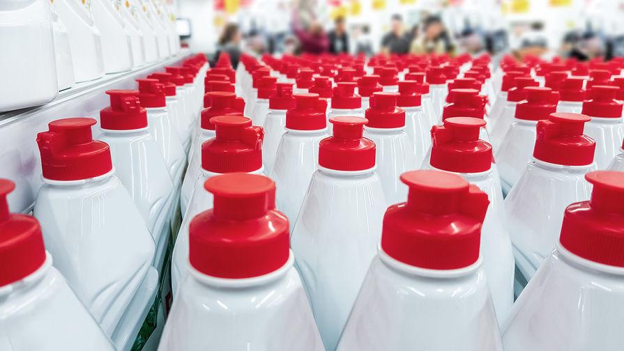 В России могут ввести маркировку для бытовой химии