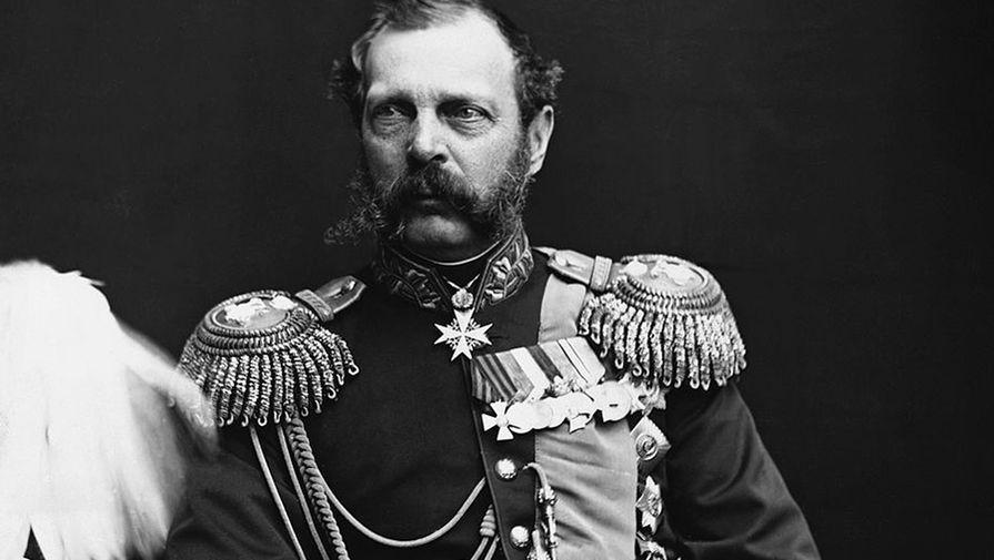 Царь Александр II, фото сделано до 1881 года