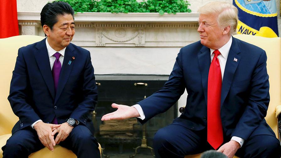 Трамп поддержал визит Абэ в Иран