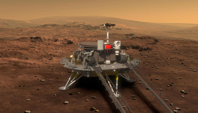 Второй пошел: Китай летит на Марс