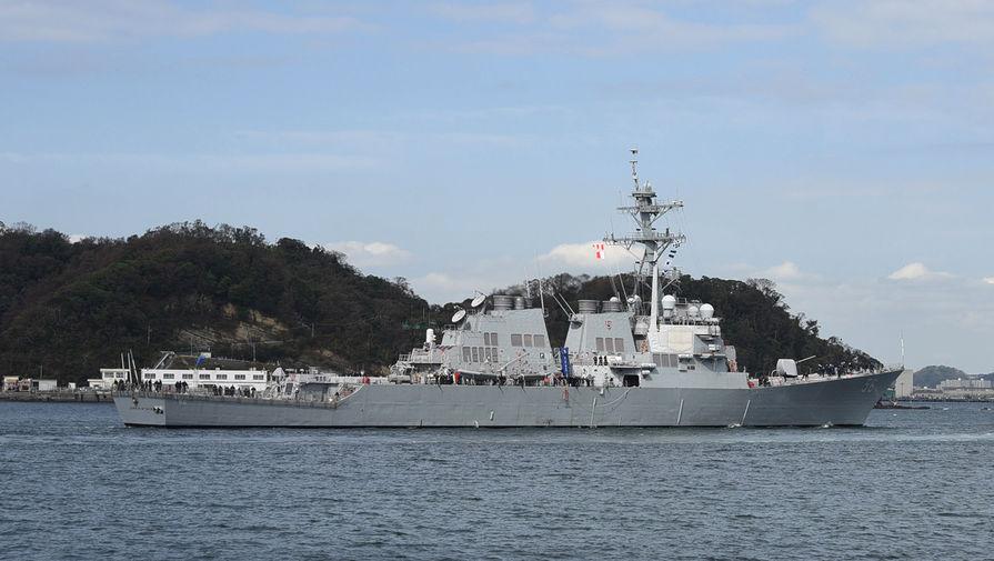 Нарушение границы: российский корабль пригрозил «Маккейну» тараном