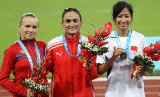 Людмила Кузьмина взяла серебро в беге на 3000 м с препятствиями