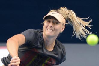 Мария Шарапова активно готовится к старту Australian Open