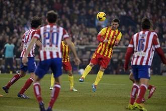 Лионель Месси не помог «Барселоне» одолеть «Атлетико»