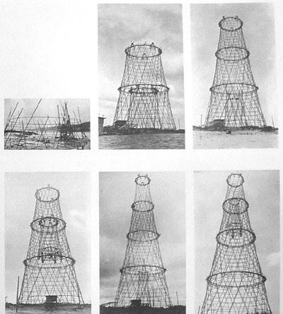 Строительство Шаболовской радиобашни (1920-1922)