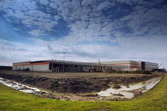 На территории строящегося индустриального парка «Марьино»