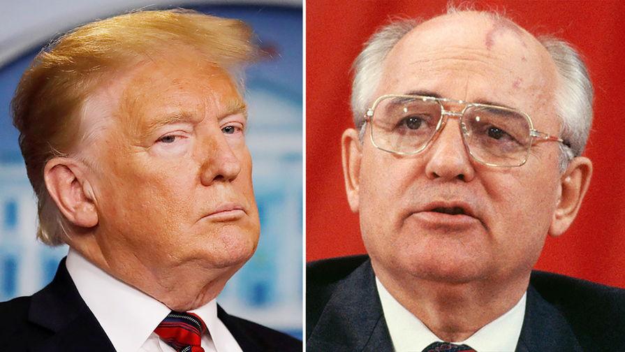 Мечтают о превосходстве: Горбачев объяснил выход США из ДРСМД