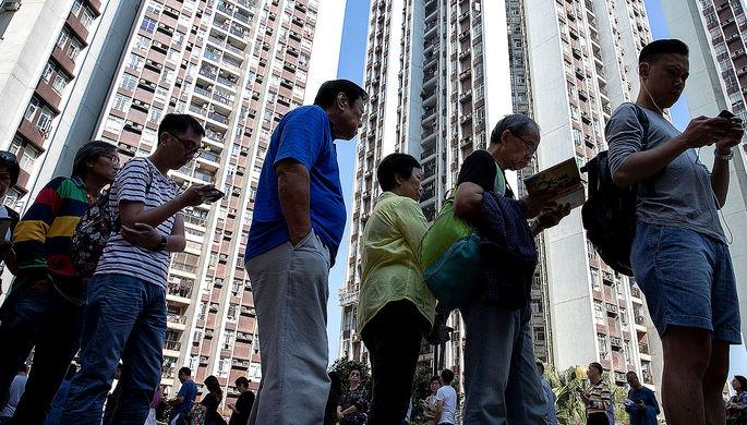 Протестная мобилизация: Гонконг делает свой выбор