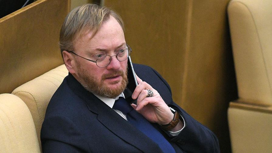 Милонов предложил пересмотреть зарплату Черчесова после провала на Евро