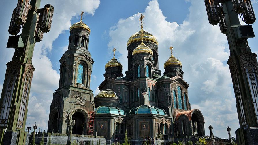 Главный храм Вооруженных сил РФ в парке «Патриот»