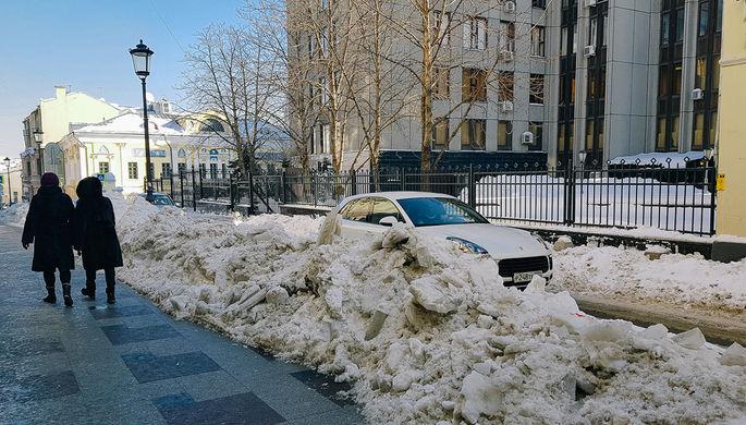 Ситуация на московских улицах, 13 февраля 2018 года