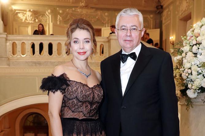 Божена Рынска с Игорем Малашенко, 2017