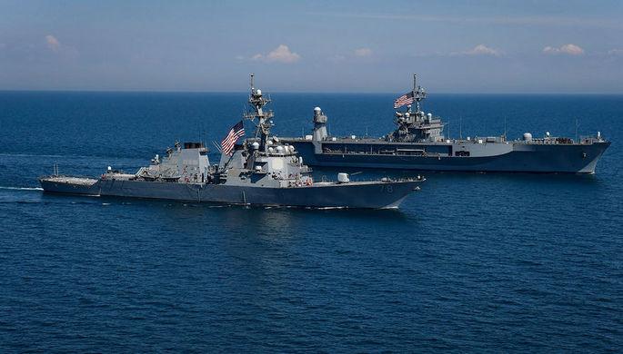 Обострение в Ормузском проливе: США сбили иранский дрон
