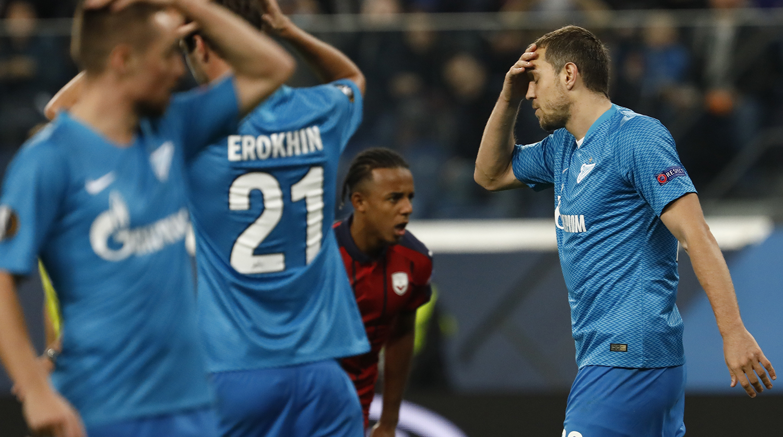 Прогноз на матч Бордо - Зенит: Зенит не проиграет