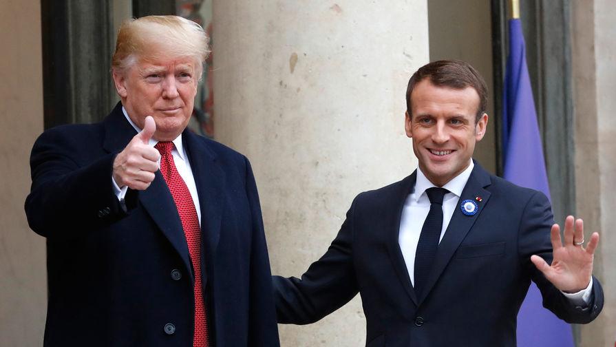 Трамп и Макрон решили пригласить Россию на саммит G7