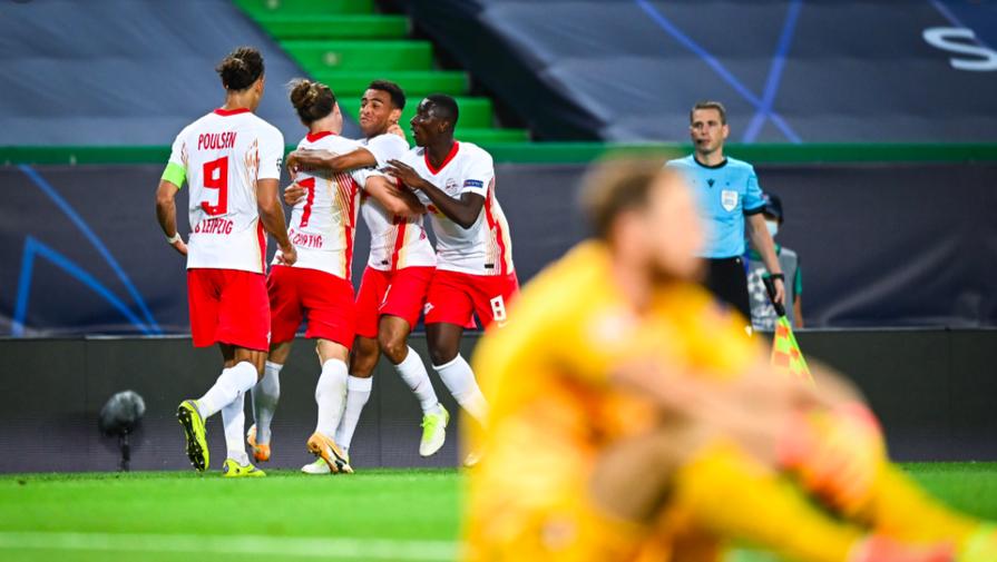 Эпизод матча «РБ Лейпциг» — «Атлетико»