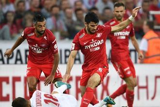 «Спартак» уверенно победил «Арсенал» в матче пятого тура РФПЛ