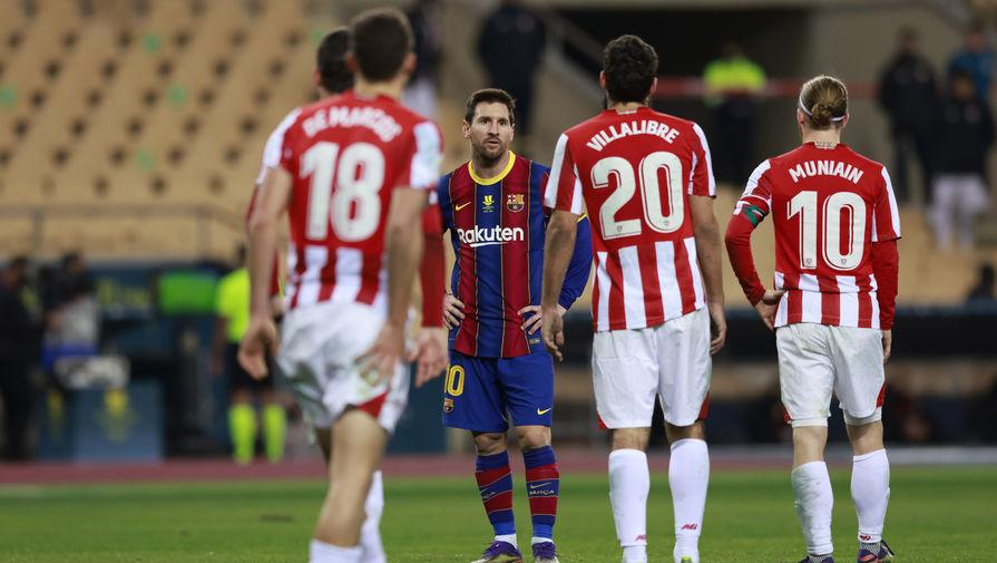 Эпизод матча «Барселона»- «Атлетик», Лионель Месси
