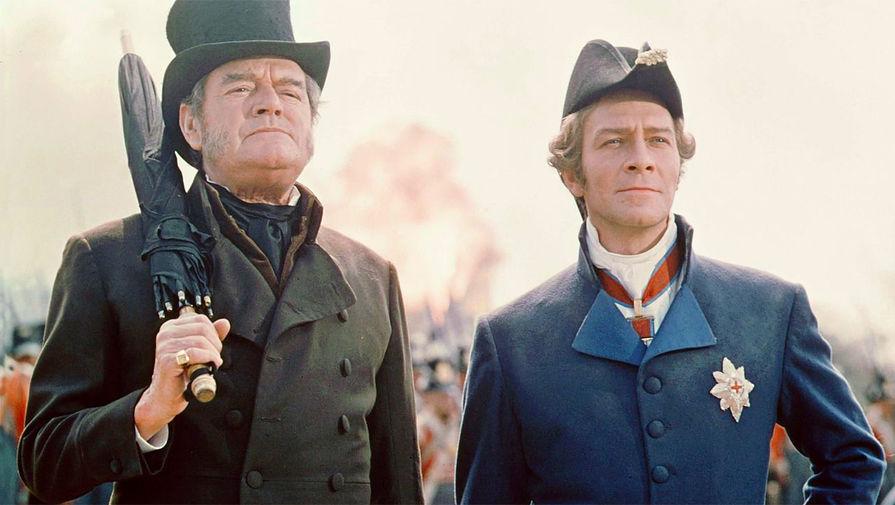 Кадр из фильма «Ватерлоо» (1970)