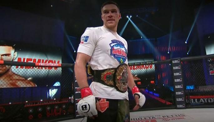Немков отстоял титул чемпиона Bellator
