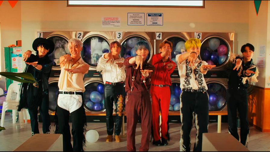 Клип BTS о конце пандемии набрал 30 млн просмотров за несколько часов