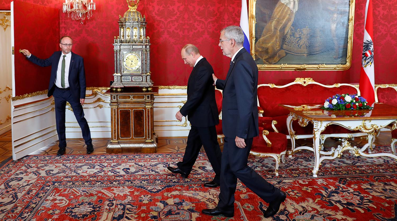 Президент Австрии рассказал о русских корнях перед приездом в Россию
