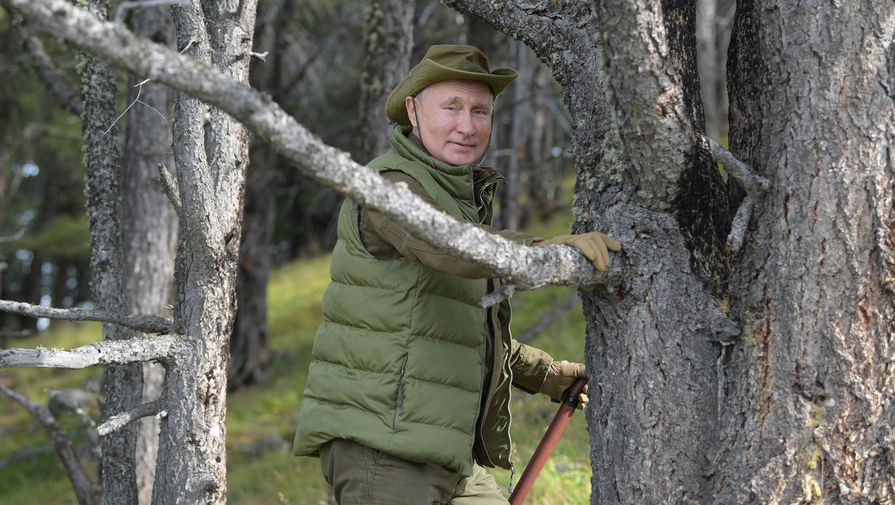 Красивая страна: почему Путин любит отдыхать в России