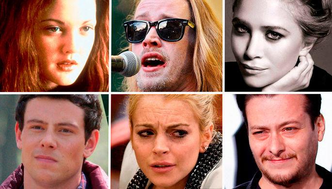 Алкоголь и наркотики: как слава губит юных актеров Голливуда