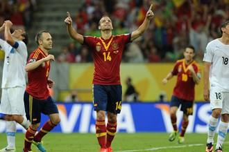 Испания обыграла Уругвай в матче Кубка конфедераций
