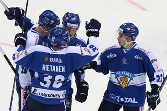 Финны помогли сборной России выиграть Кубок Первого канала по хоккею