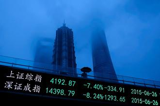 Китай падает вслед за Грецией