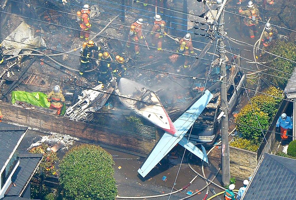 самолеты которые упали на дома раньше видел