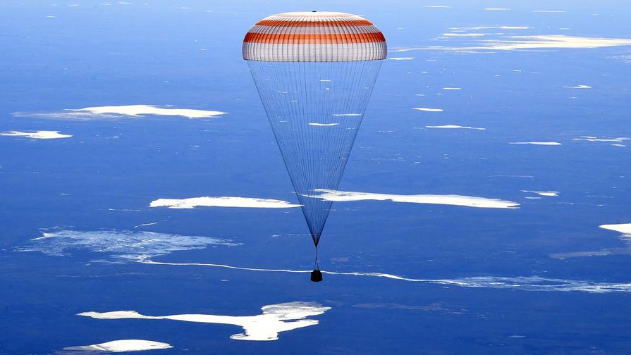 Корабль «Союз МС-11» начал спуск с орбиты