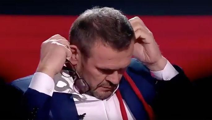 «Где-то они надышались»: Соловьев о драке украинцев на шоу
