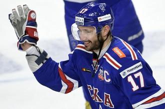 Хоккеист питерского СКА Илья Ковальчук