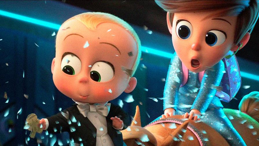 Кадр из мультфильма «Босс-молокосос 2» (2021)