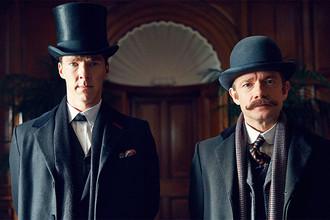 Кадр из телефильма «Шерлок Холмс: Безобразная невеста»