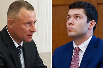 Евгений Зиничев и Антон Алиханов