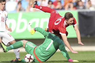 Юношеская сборная России проиграла национальной команде Венгрии во втором матче элитного раунда чемпионата Европы по футболу для игроков до 17 лет