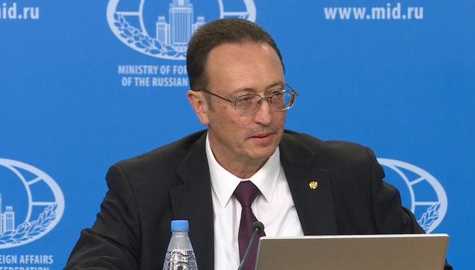 Директор Департамента по вопросам нераспространения и контроля над вооружениям МИД России Владимир...