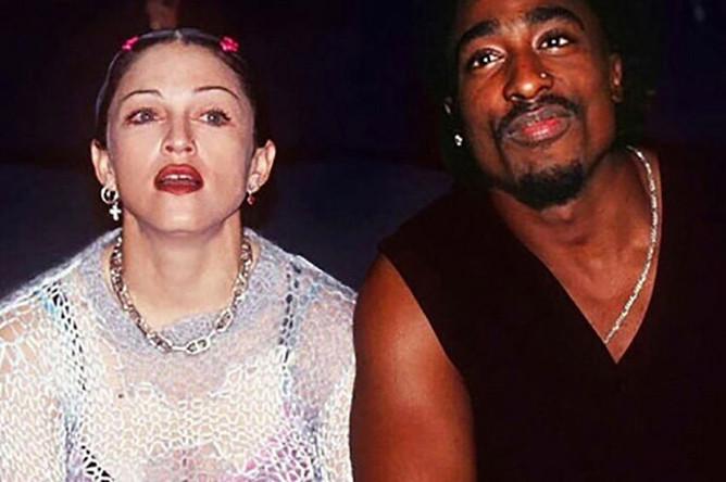Мадонна и Тупак Шакур, 1994 год