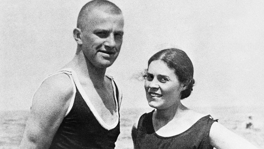 Владимир Маяковский и Лиля Брик в Германии, 1922 год