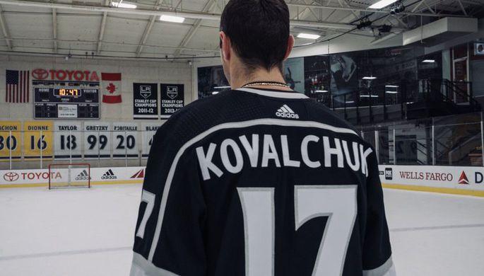 Нападающий «Лос-Анджелес Кингз» Илья Ковальчук