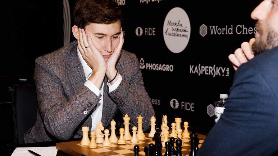 Сергей Карякин на этапе Гран-при