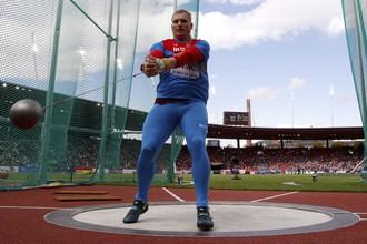 Сергей Литвинов завоевал бронзовую медаль чемпионата Европы по легкой атлетике