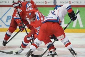 Россия против Чехии на Евротуре