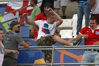 Российские фанаты запомнились своим «выступлением» на Евро-2016